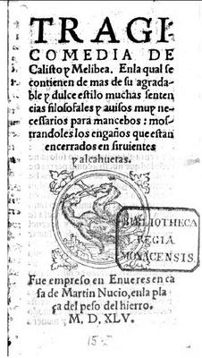 Portada de Amberes, 1545