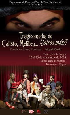 Representación del Teatro Julia de Burgos de la Universidad de Puerto Rico, Río Piedras, 2014