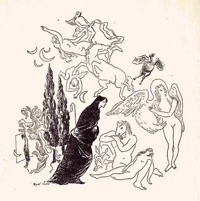 Ilustración de la introducción de la edición de México (1947)