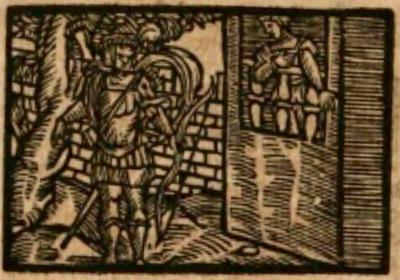 Ilustración del acto I de la edición de Estella (1557)