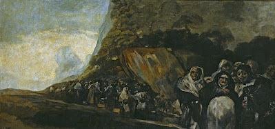 La Inquisición o El santo oficio, de Goya (1820)