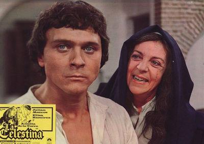 Fotocromo 1 de la película La Celestina de Ardavín