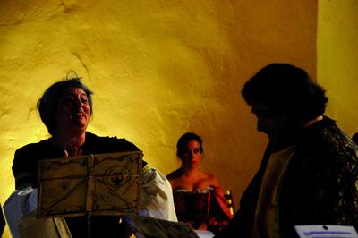 Representación del auditorio del Convento de la Merced , Almazán, 2010