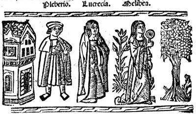 Ilustración tercera del acto XX de la edición de Valencia (1529)