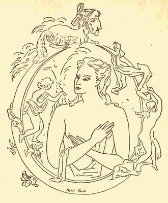 Ilustración primera de la contraportada de la edición de México (1947)