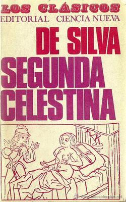 Portada de la Segunda comedia de Celestina, de Silva (1968)