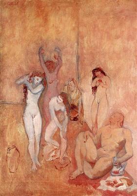 El harén, de Picasso (1906)