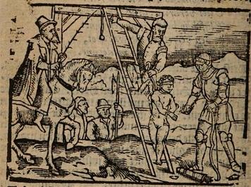Ilustración segunda del acto XIII de la edición de Amberes (1616)