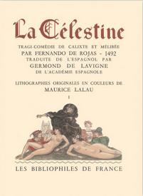 Portada de la edición de Bibliophiles de France (1949 c.)