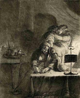 Ilustración de Oeuvre priápica de Vivant Denon (1790)