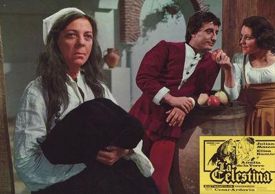 Fotocromo 3 de la película La Celestina de Ardavín