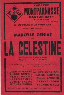 Representación del Théâtre Montparnasse-Gaston Baty, París, de Meyer (1942)<br />