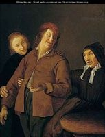 La alcahueta, de Molenaer (1640 c.)