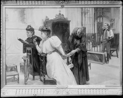 La epístola, de Santamaría Sedano (1895)<br /> <br />