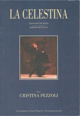 Cubierta de libro o folleto sobre La Celestina de Pezzoli