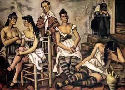 La casa del arrabal, de Gutíerrez Solana (1934)