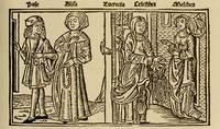 Grabado del acto IV de la edición de Burgos (1499)