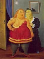 Celestina, varios cuadros de Botero (1998-2006)