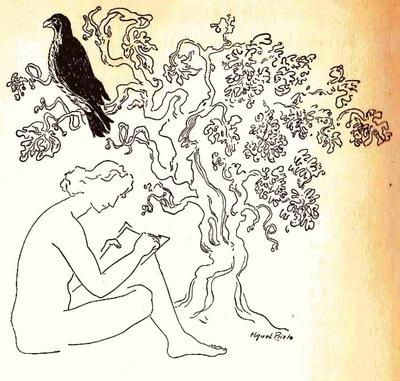 Ilustración segunda de la contraportada de la edición de México (1947)