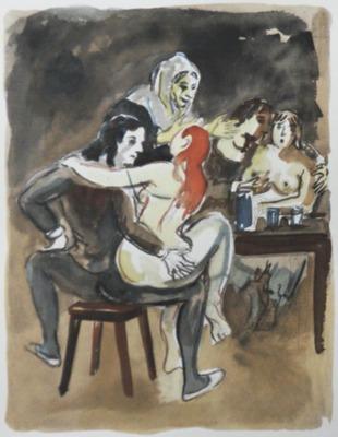 Ilustración del Acto IX de la edición de París, 1976