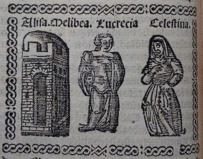 Ilustración del acto 4 de Medina del Campo, 1530<br /> <br />