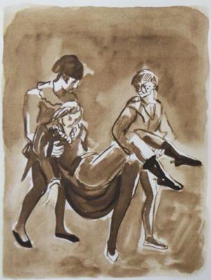 Ilustración segunda  del acto XIX de la edición de París, 1976