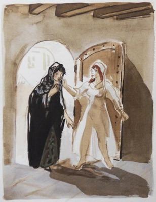 Ilustración del acto XVII de la edición de París, 1976