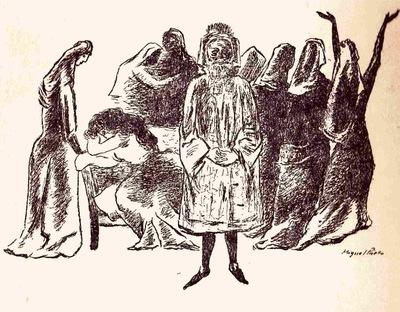 Ilustración del acto XXI de la edición de México (1947)