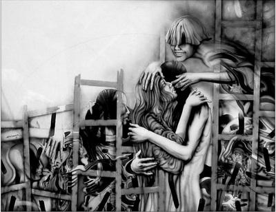 Cupido y la Celestina en el gallinero, de Luis Debairosmoura (?) (1998)