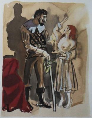 Ilustración del Acto XV de la edición de París, 1976