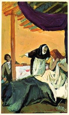 Ilustración del acto VII de la edición de Barcelona (1972)
