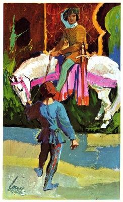 Ilustración del acto II de la edición de Barcelona (1972)