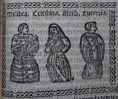 Ilustración del acto 10 de Medina del Campo, 1530