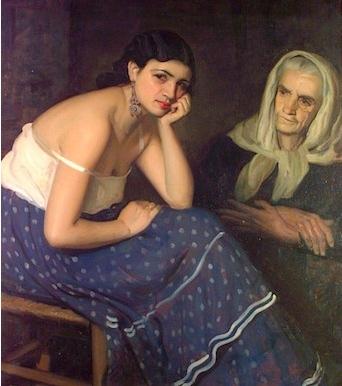 Meditación ,de Soria Aedo, (1933)