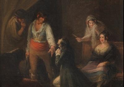En el garlito, de Alenza y Nieto (1835 c.)