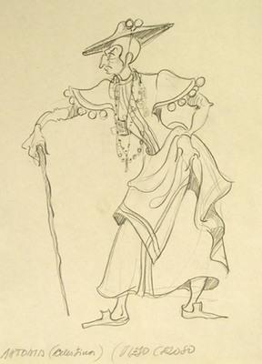 Figurín de una celestina, de Richart (1980 c.)
