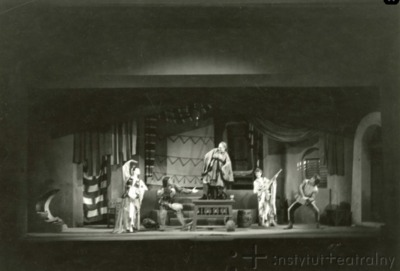 Representación del Teatro Wojska Polskiego, Łódź, Polonia, de Schiller (1947)<br />