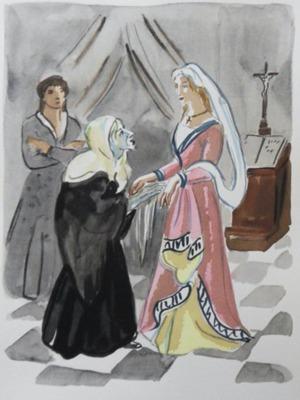 Ilustración del Acto X de la edición de París, 1976