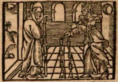 Ilustración del acto IV de la edición de Estella (1557)