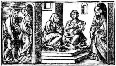 Ilustración del acto X de la edición de Zaragoza (1545)