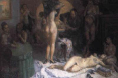 Escena de burdel, de Barba (1970, c.)