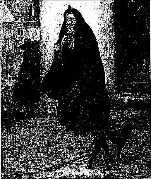 Una vieja, de Ramos (1900 c.)