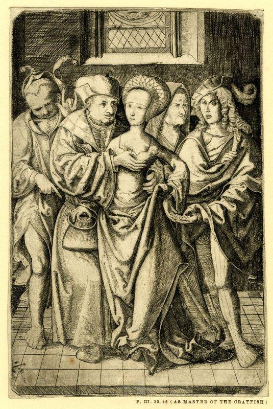 Sin título, grabado de Crabbe van Espleghem.