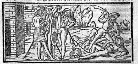 Grabado del acto XIII de la edición de Sevilla (1523)