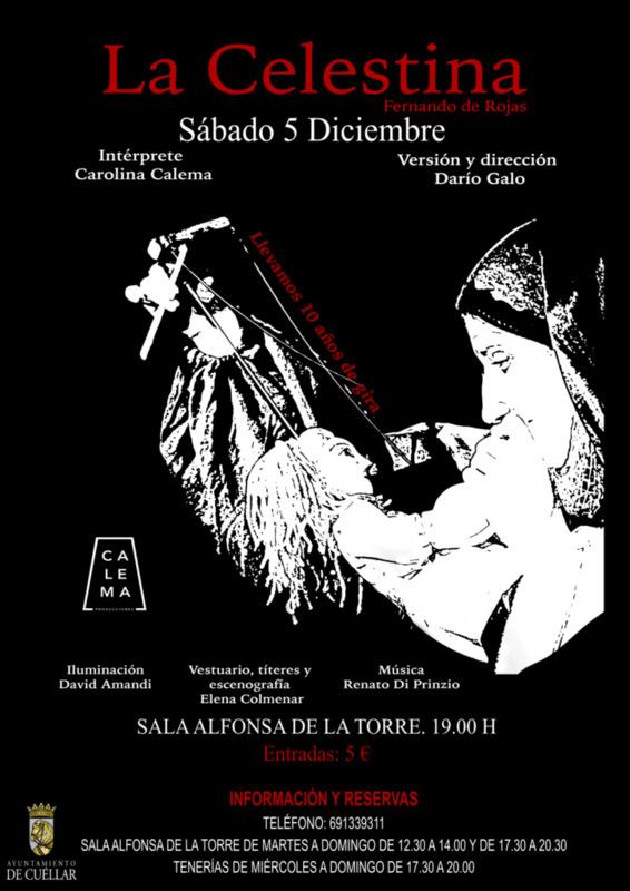 """Representación de """"La Celestina"""" en Cuéllar  (2020)"""