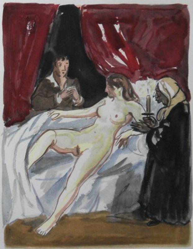 Ilustración del acto VII de la edición de París, 1976