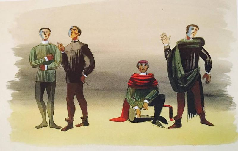 Representación del Teatro Eslava, Madrid, 1957