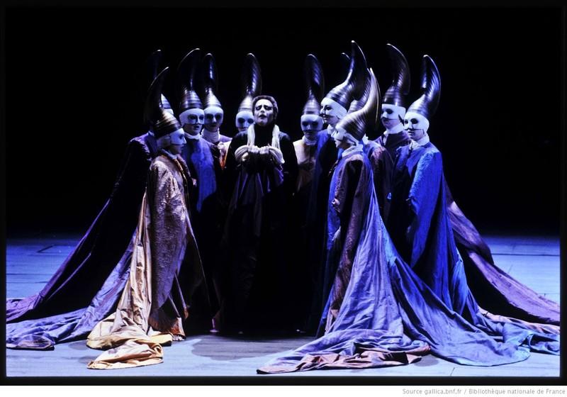 Representación del Opéra National de Paris-Palais Garnier, 1988