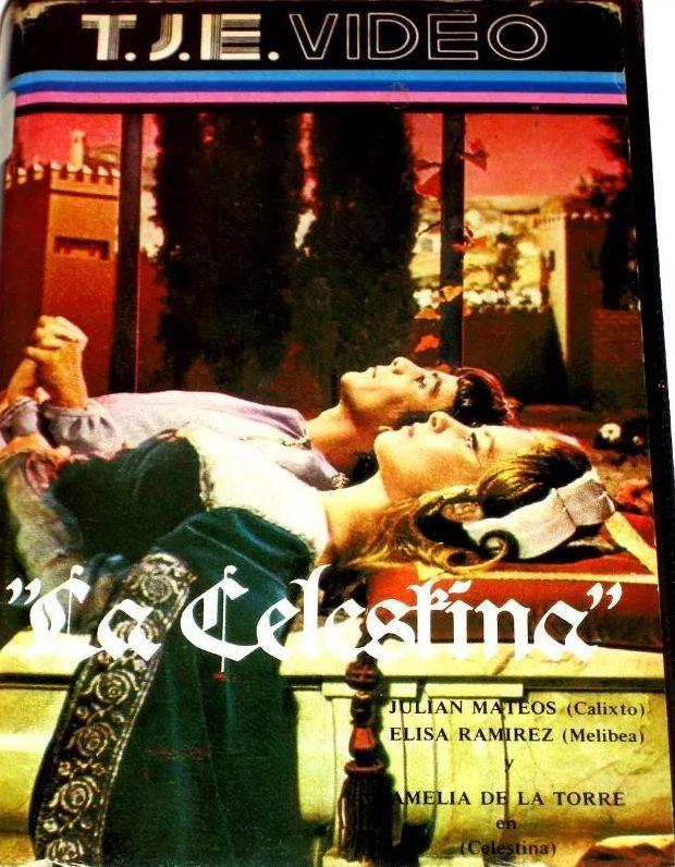 Carátula de cinta VHS de la versión cinematográfica de Ardavín, de 1969 (carátula 1980 c.)