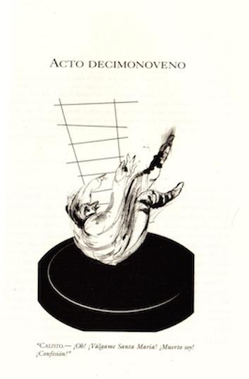 Ilustración del acto décimonoveno de la edición de Buenos Aires, 2002.